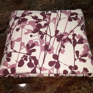 Ikea Ransby F/Q 82x82'' Floral Purple Vines